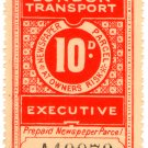 (I.B) London Transport Executive : Railway Newspapers 10d