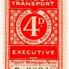 (I.B) London Transport Executive : Railway Newspapers 4d