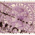 (I.B) Jamaica Telegraphs : 3d Lilac (1889)