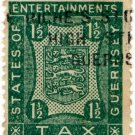(I.B) Guernsey Revenue : Entertainments 1½d
