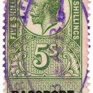(I.B) George V Revenue : Passport Office 5/-