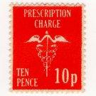 (I.B) Elizabeth II Revenue : Prescription Charge 10p