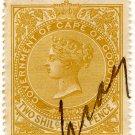 (I.B) Cape of Good Hope Revenue : Stamp Duty 2/6d