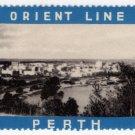(I.B) Australia Cinderella : Orient Line (Perth)