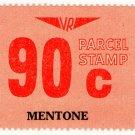 (I.B) Australia - Victoria Railways : Parcel 90c (Mentone)