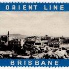 (I.B) Australia Cinderella : Orient Line (Brisbane)