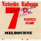 (I.B) Australia - Victoria Railways : Parcels 7d