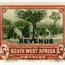 (I.B) South-West Africa Revenue : Duty 5/-
