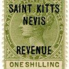 (I.B) St Kitts & Nevis Revenue : Duty 1/-