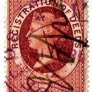 (I.B) QV Revenue : Ireland Registration of Deeds 1/- (1888)