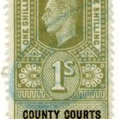 (I.B) George VI Revenue : County Courts (Northern Ireland) 1/-