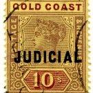 (I.B) Gold Coast Revenue : Judical 10/-