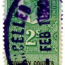 (I.B) George VI Revenue : County Courts (Northern Ireland) 2/-