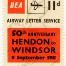 (I.B) Cinderella Collection : BEA Airway Letter Service 11d (50th Anniversary)