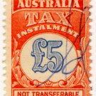 (I.B) Australia Revenue : Tax Instalment £5