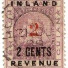 (I.B) British Guiana Revenue : Inland Revenue 2c OP (postal)