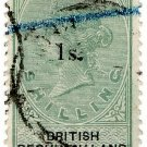 (I.B) British Bechuanaland Revenue : Duty 1/- on 1/- OP