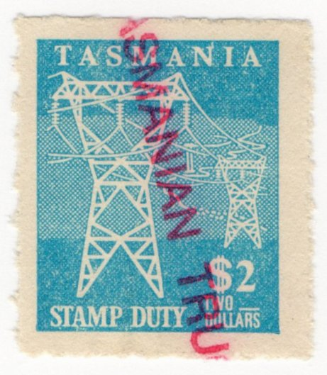 (I.B) Australia - Tasmania Revenue : Stamp Duty $2