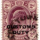 (I.B) Transvaal Revenue : Customs Duty 2d