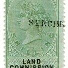 (I.B) QV Revenue : Land Commission Ireland 1/-