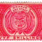 (I.B) Orange Free State Revenue : Duty 5/-