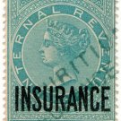 (I.B) Mauritius Revenue : Insurance 1R 56c