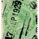 (I.B) New Zealand Revenue : Stamp Duty 5/- (Wellington Parcel Post)