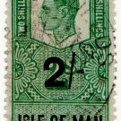 (I.B) George VI Revenue : Isle of Man 2/-