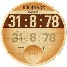 (I.B) GB Revenue : Car Tax Disc (Vauxhall 1978)
