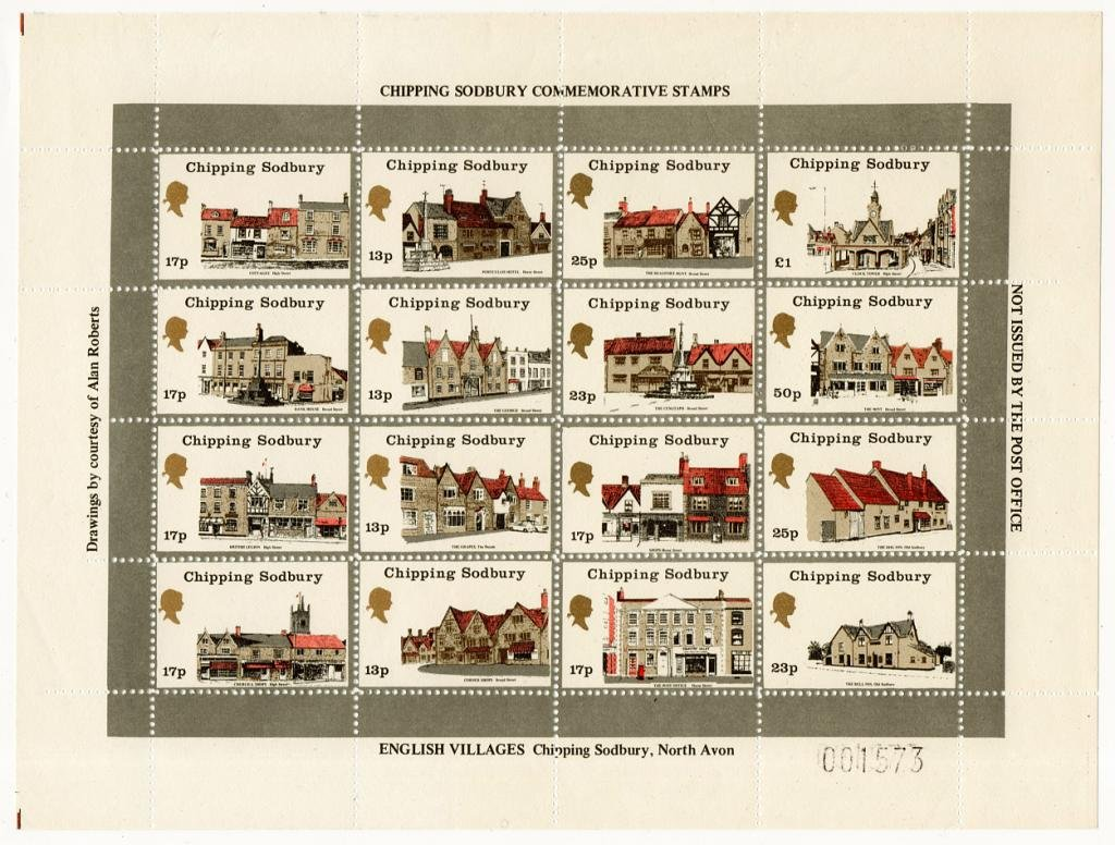 (I.B) Cinderella Collection : Chipping Sodbury Commemoratives