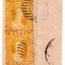 (I.B) Natal Revenue : Duty Stamp 1d (postal)