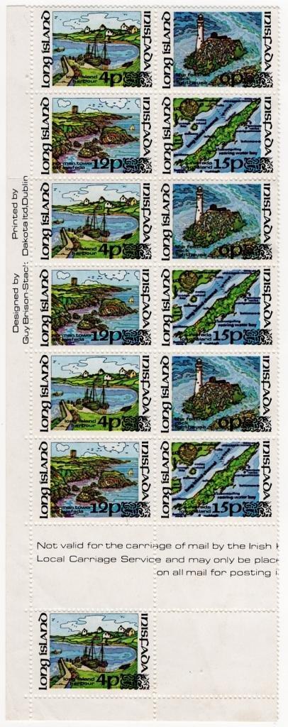 (I.B) Ireland Cinderella : Inisfada - Long Island Pictorials