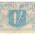 (I.B) Australia - Western Australia Revenue : Hospitals Benefit Fund 1/-