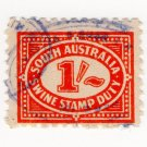 (I.B) Australia - South Australia Revenue : Swine Stamp Duty 1/-