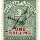 (I.B) Northamptonshire Revenue : Court Fee 1/-