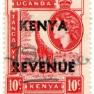 (I.B) KUT Revenue : Kenya Duty 10c