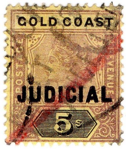 (I.B) Gold Coast Revenue : Judicial 5/-