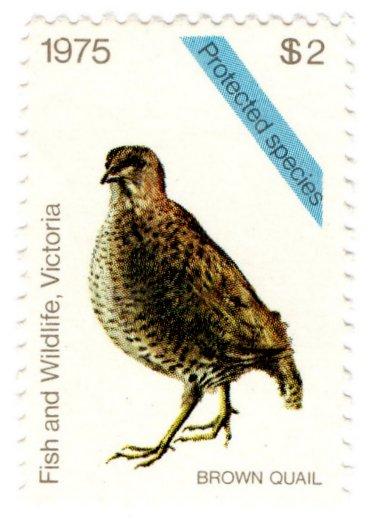 (I.B) Australia - Victoria Revenue : Hunting Tax $2 (1975)
