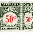 (I.B) Australia Revenue : Tax Instalment 50c