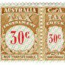 (I.B) Australia Revenue : Tax Instalment 30c