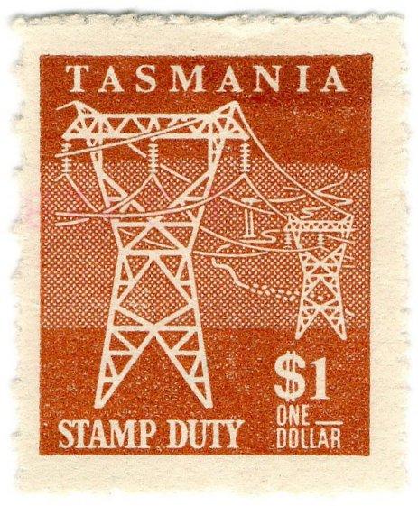 (I.B) Australia - Tasmania Revenue : Stamp Duty $1
