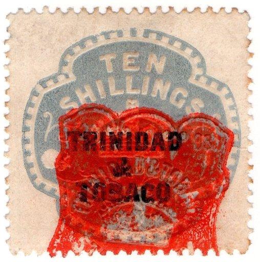 (I.B) Trinidad & Tobago Revenue : Duty 10/-