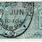 (I.B) QV Revenue : Judicature Fees 2/- (1876)