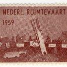 (I.B) Netherlands Cinderella : Rocket Mail (Rakentenvluchten) 1959