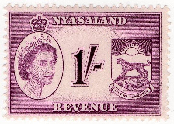 (I.B) Nyasaland Revenue : Duty 1/-