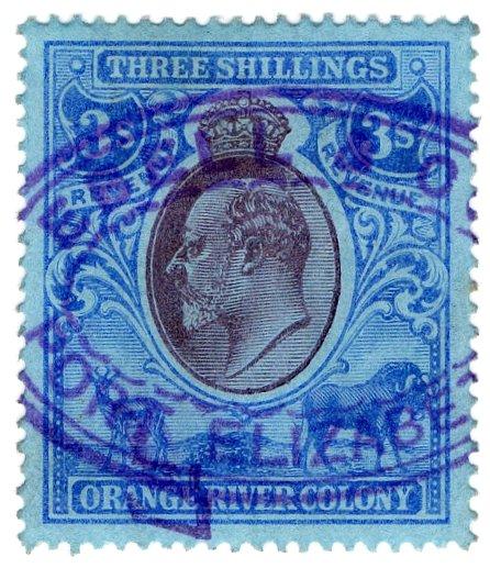 (I.B) Orange River Colony Revenue : Duty 3/-