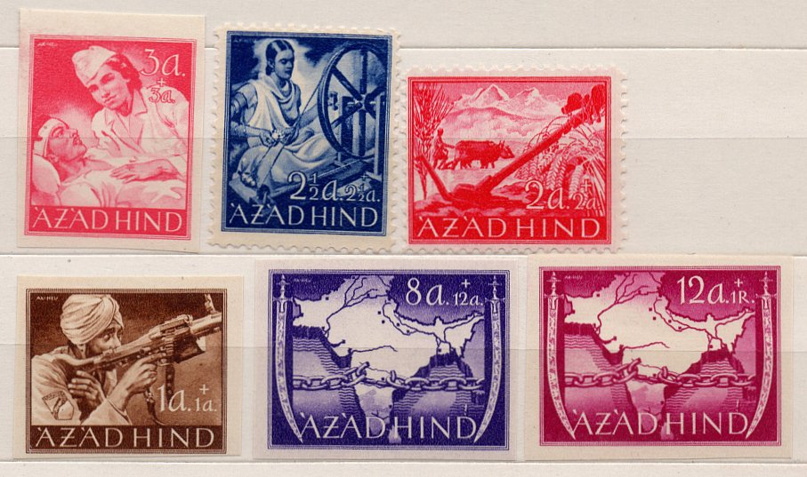 (I.B) India Cinderella : Azad Hind Collection