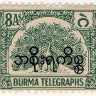 (I.B) Burma Telegraphs : 8a (Official)