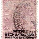 (I.B) British Bechuanaland Revenue : Duty 6d