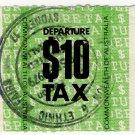 (I.B) Australia Revenue : Departure Tax $10